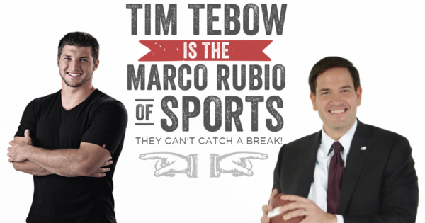 Tim Tebow Is The Marco Rubio Of Sports